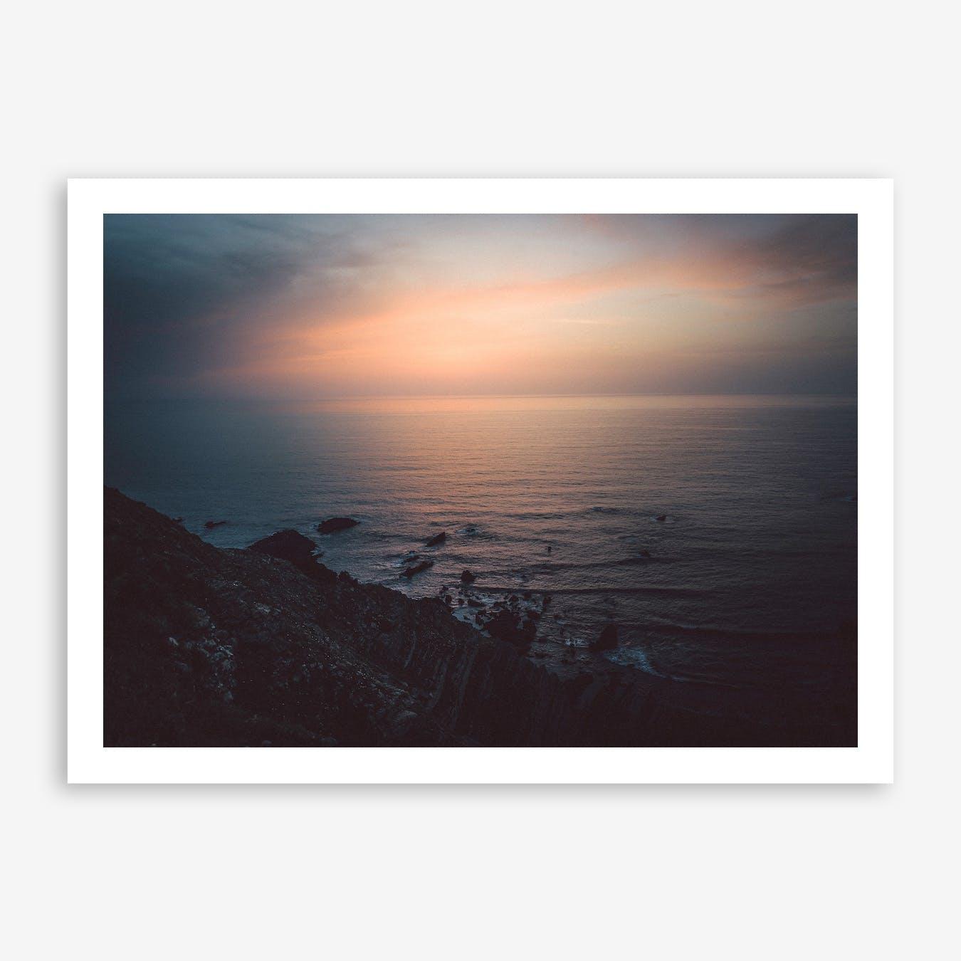 Sea Sunset I x Cliffs, Portugal