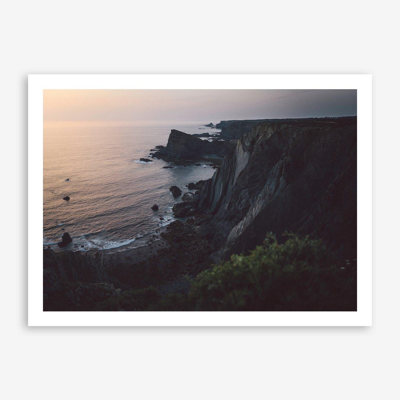Sea Sunset II x Cliffs, Portugal