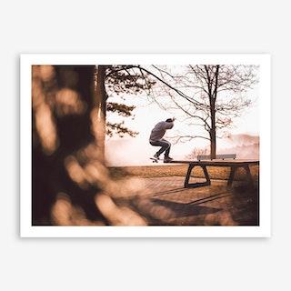 Different x Skateboarding feat Tabletennis Art Print