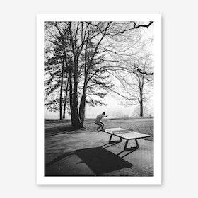 Different II x Skateboarding feat Tabletennis Art Print