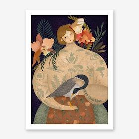 Wild Geese 1 Art Print