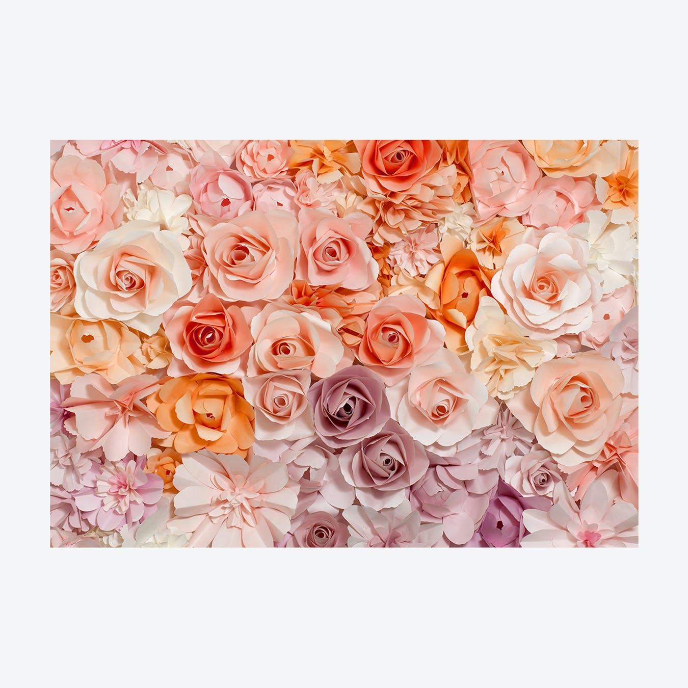 Rose Paradise Wall Mural