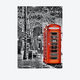 Calling From London Wall Mural