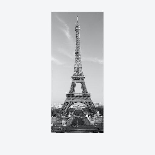 Eiffel Tower Door Mural