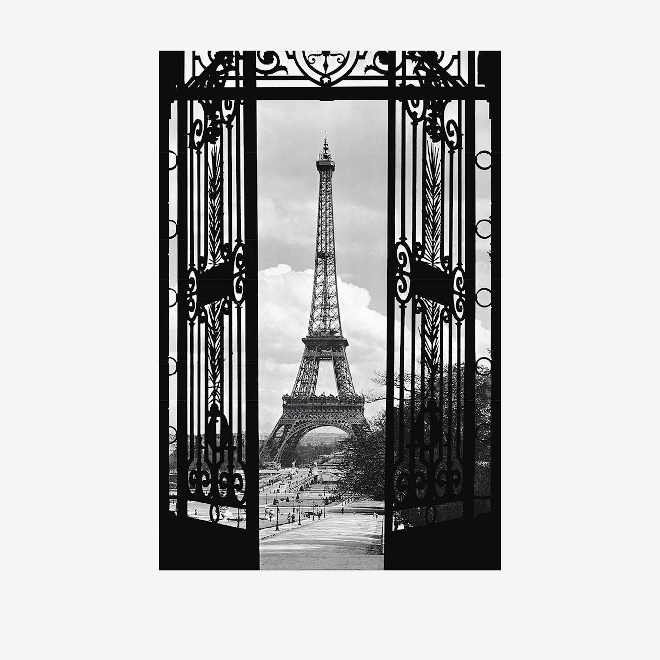 Parisian Window Wall Mural