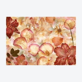 Art Flowers Decoupage Wall Mural