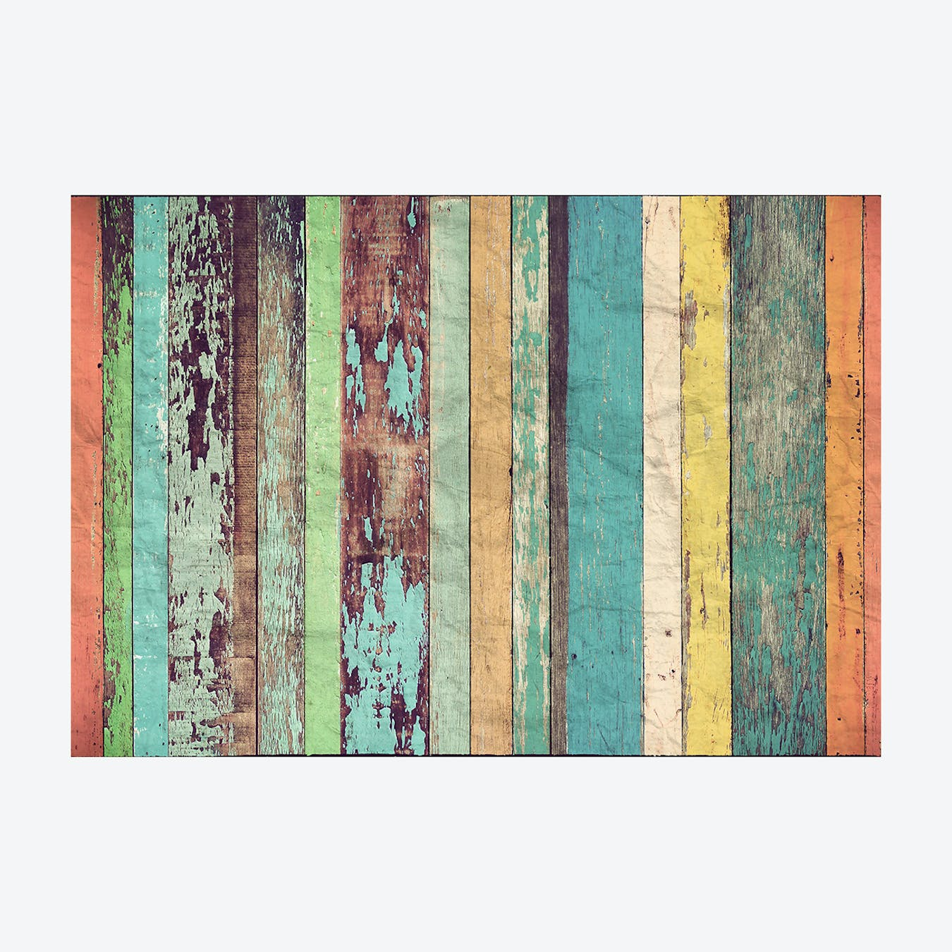 Art Artesian Wooden Wall Mural