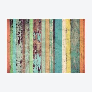 Art Artesian Wooden Wall Mural