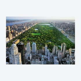 Birds Eye View Central Park Wall Mural