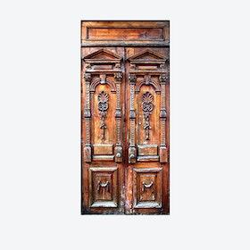 Rustic Door Mural