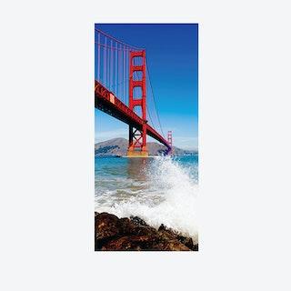 Golden Gate Bridge Door Mural