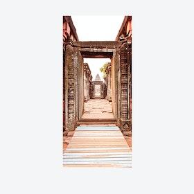 Ancient Entrance Door Mural