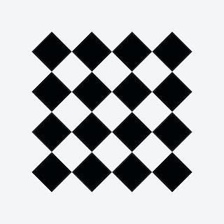 Diamonds Pattern Self-adhesive Decal