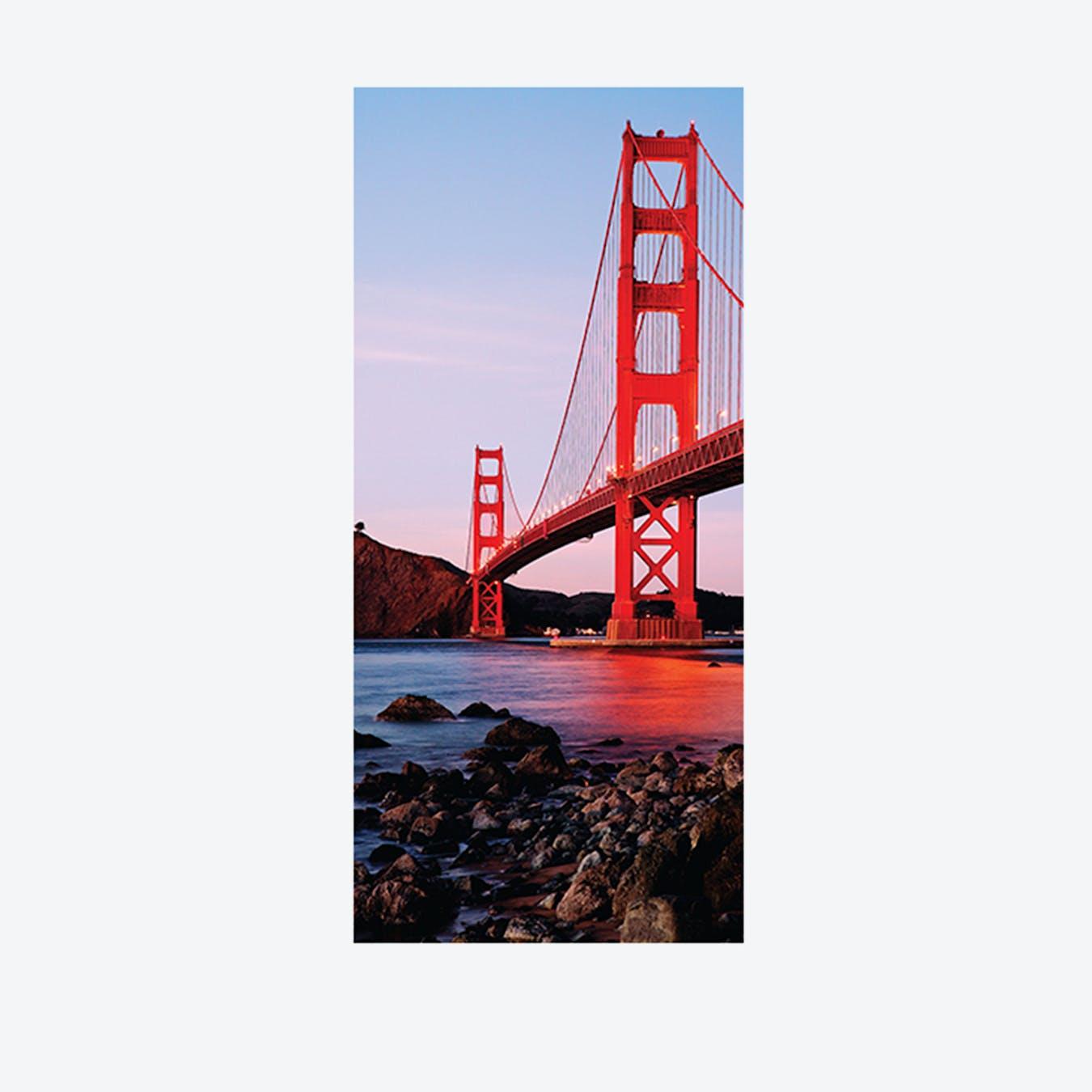 Golden Gate Bridge Self-Adhesive Door Mural