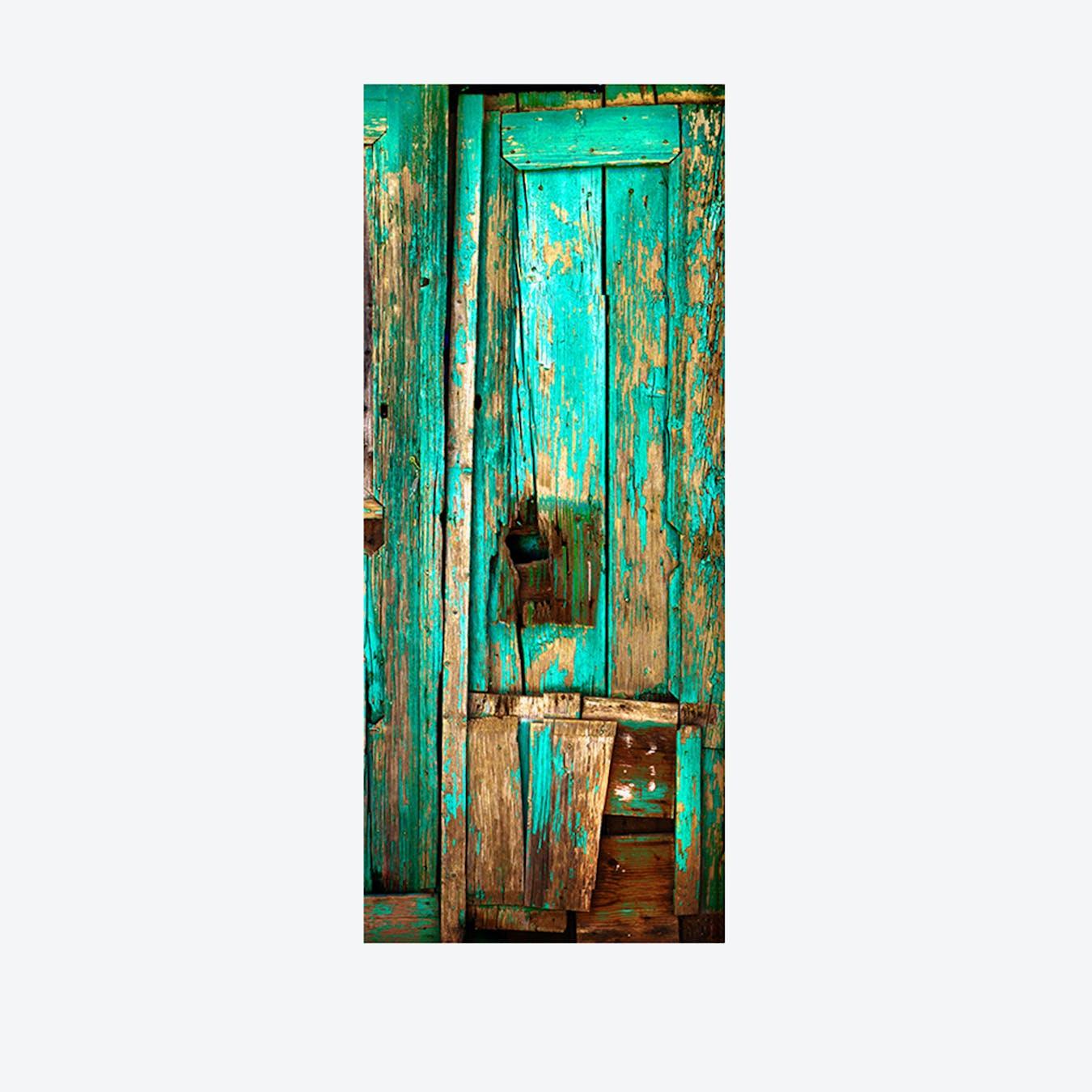 Vintage Timber Door Mural