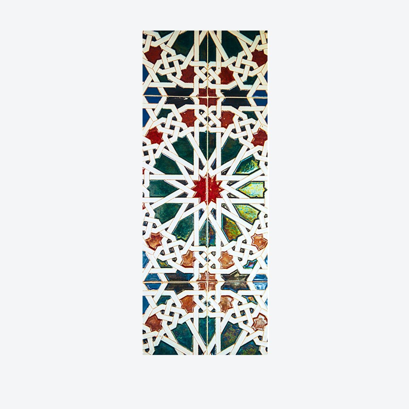 12 Pointed Star Door Mural