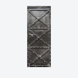 Metal Gate Door Mural