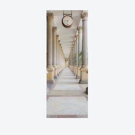 Columns Door Mural