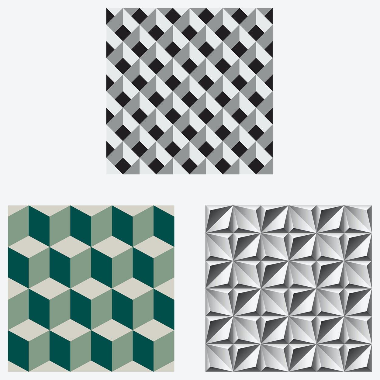 The Cubism Self-Adhesive Furniture Wrap