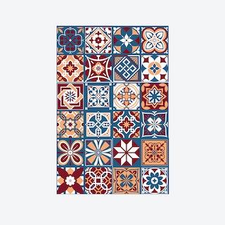 Westminster Tiles Wall Sticker Decal