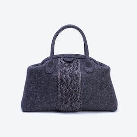 Plait Bag in Anthracite