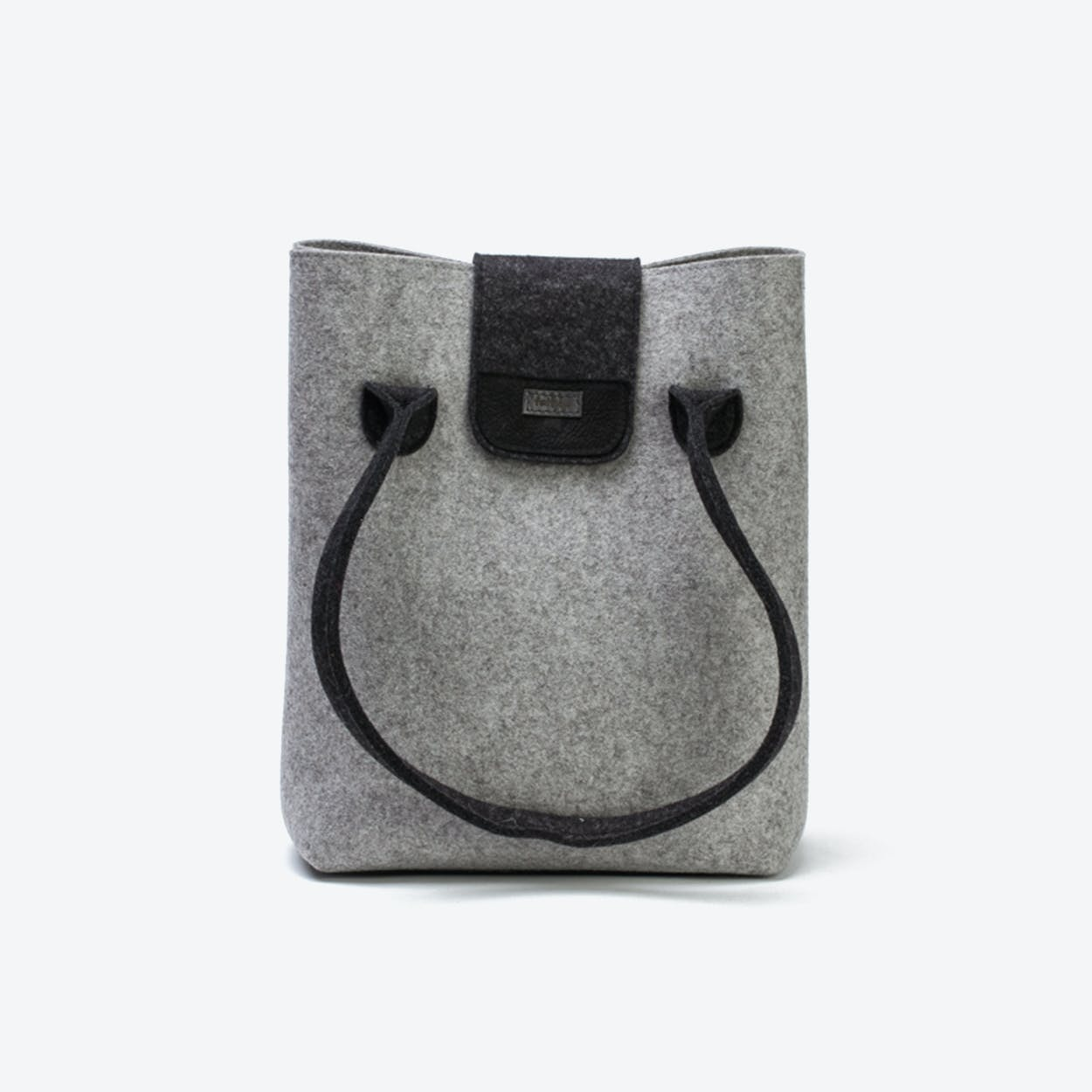 Practical Bag in Light Mottled/Anthracite