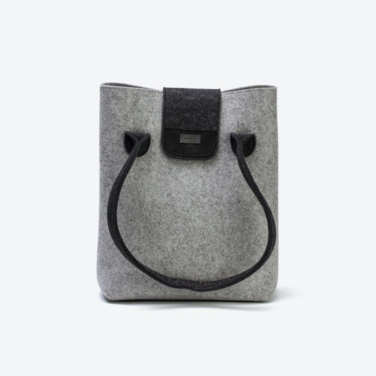 Practical Bag in Light Mottled/Anthracite