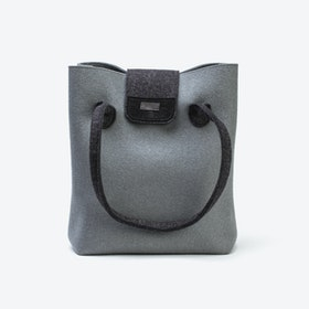 Practical Bag in Dove Grey/Anthracite
