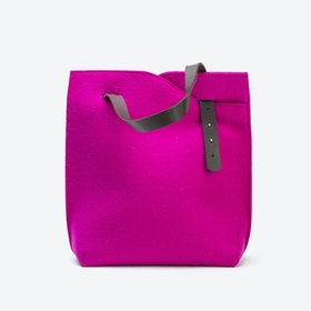 Felttascha in Bright Pink