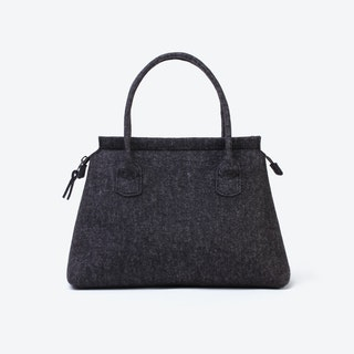 Business Tote in Anthracite