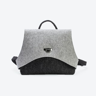 Safety Backpack in Anthracite/Light Mottled