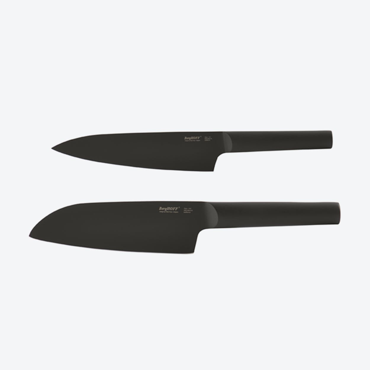 Santoku & Chef's Knife Set