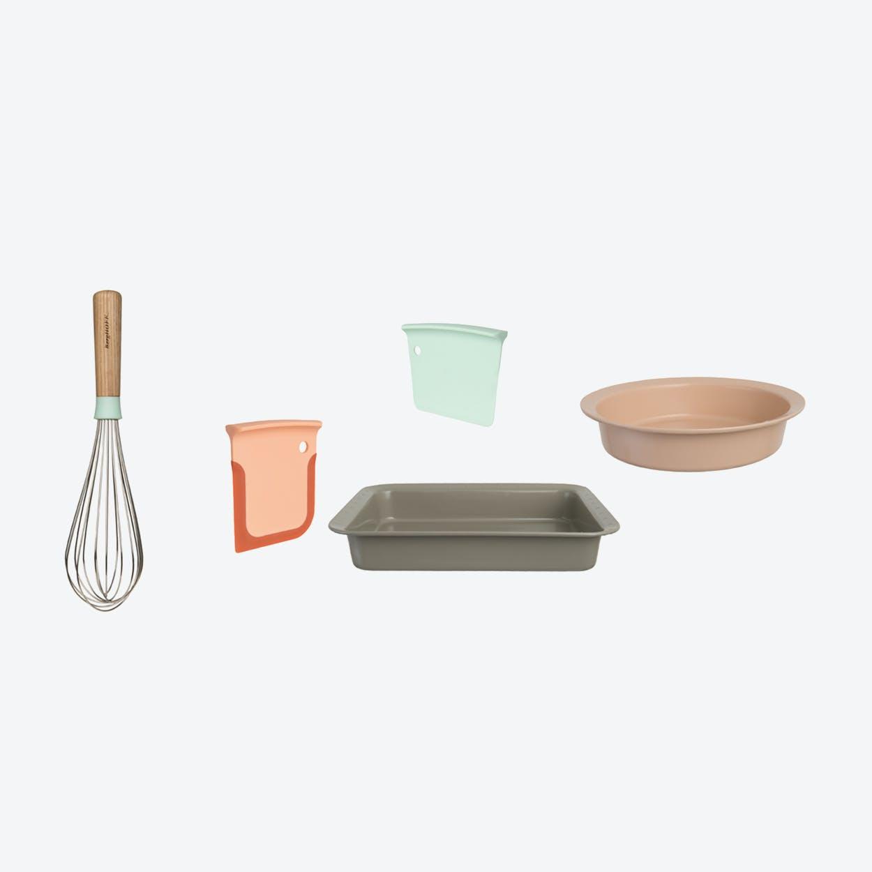 Kitchen Accessories & Bakeware Set 4