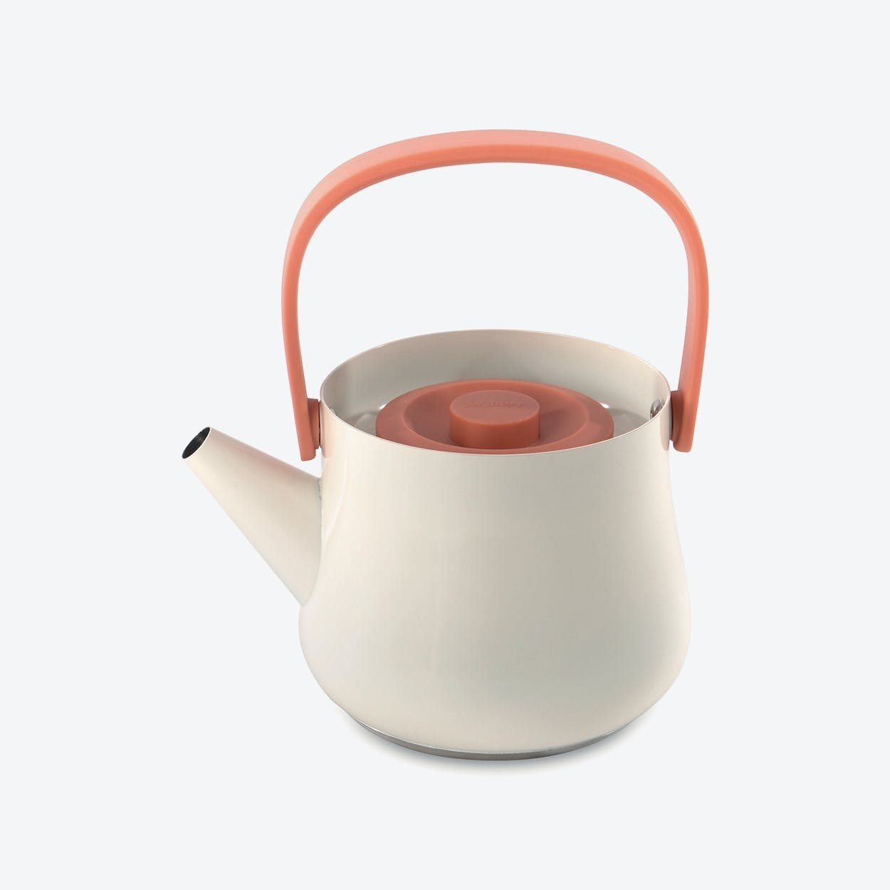 Teapot with strainer in Black