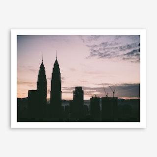 Kuala Lumpur Morning 2 Art Print