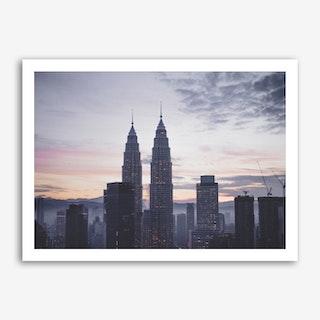 Kuala Lumpur Morning 3 Art Print