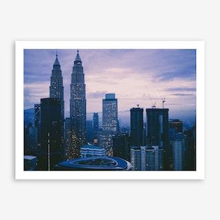 Kuala Lumpur Morning 4 Art Print