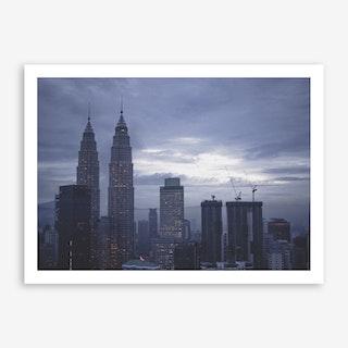 Kuala Lumpur Morning 5 Art Print