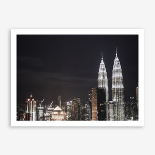 Kuala Lumpur Night 1 Art Print