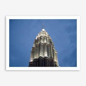 Kuala Lumpur Night 2 Art Print