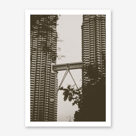 Petronas Twin Towers 1 Art Print