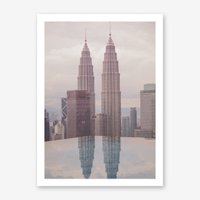 Petronas Twin Towers 5 Art Print