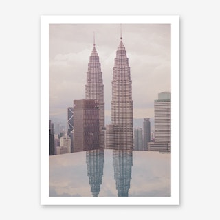Petronas Twin Towers 5 Art Print