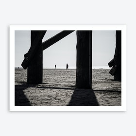 At the Beach 1 Art Print
