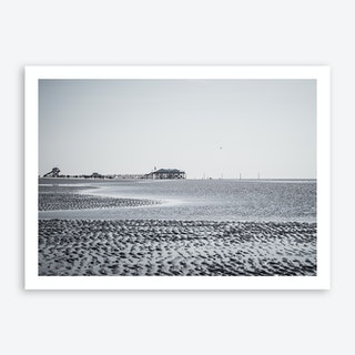 At the Beach 2 Art Print