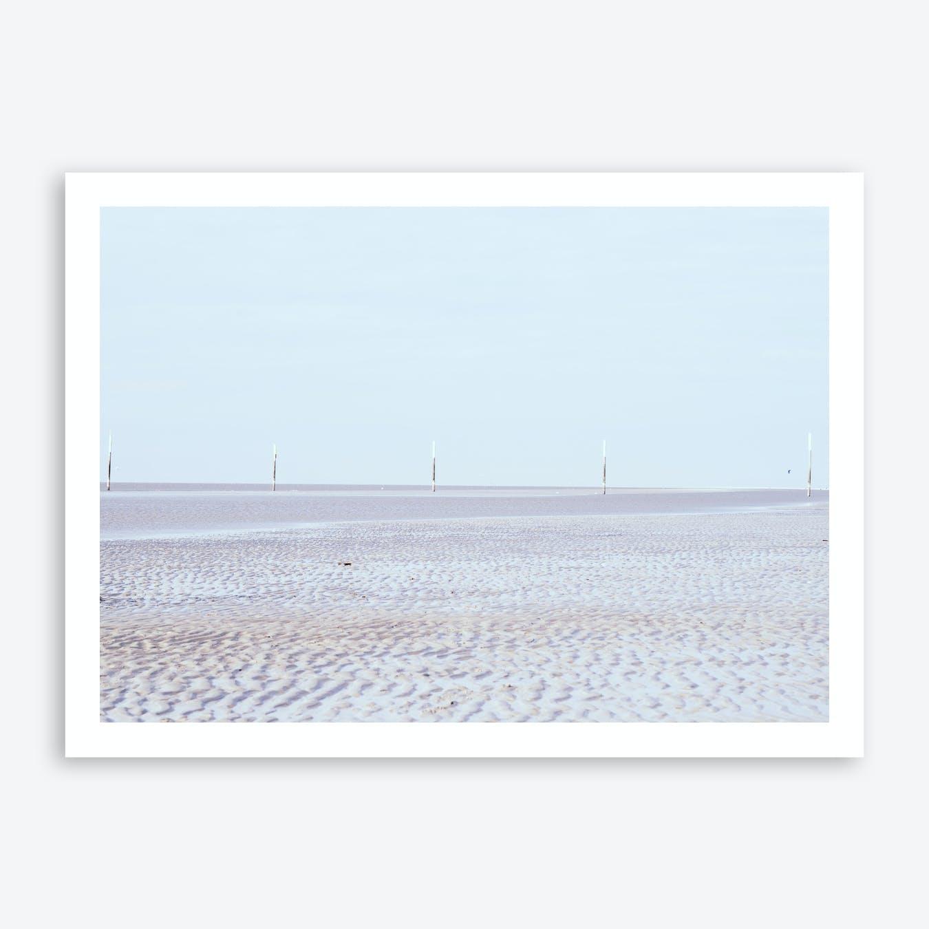 At the Beach 3 Art Print