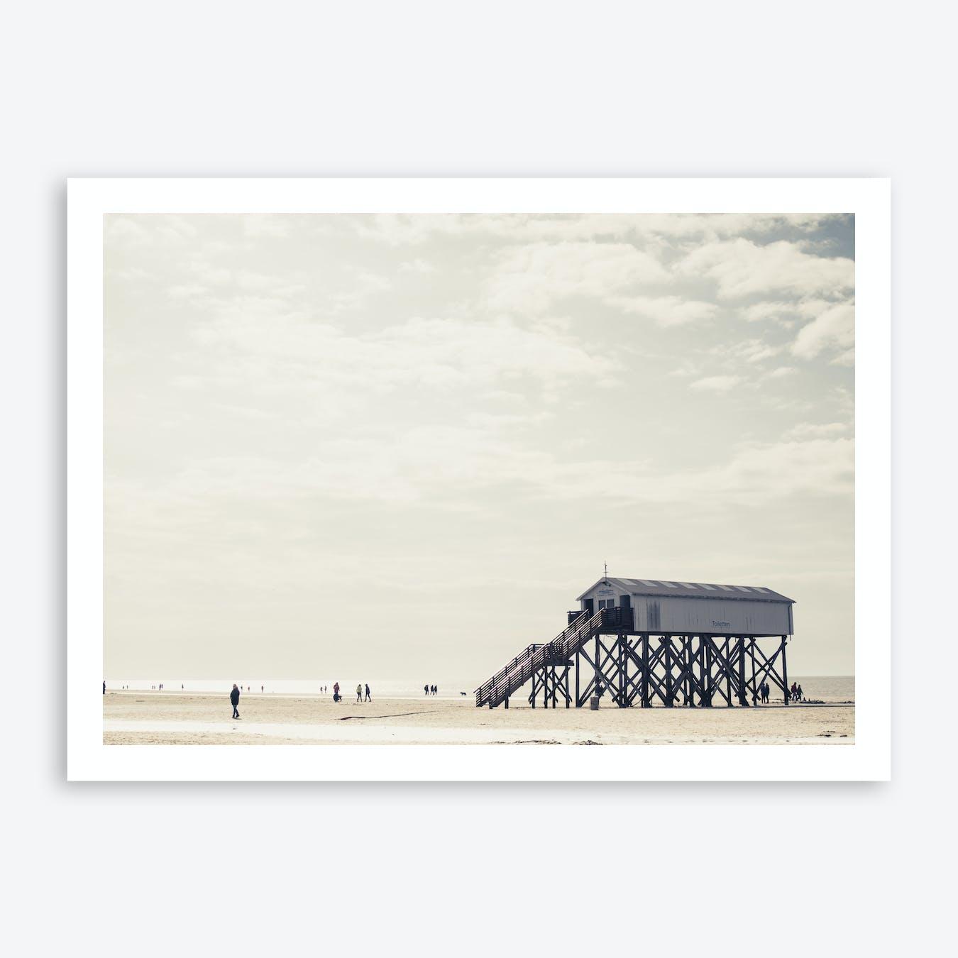 At the Beach 5 Art Print