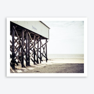At the Beach 6 Art Print