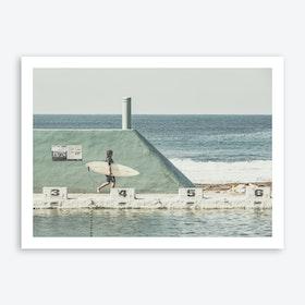 Surfer 1 Art Print