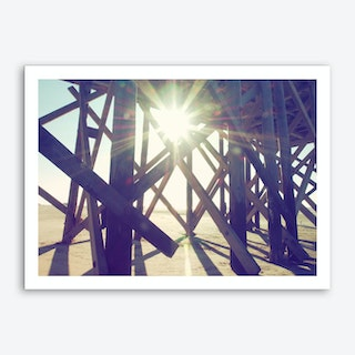 Sun And Beach_1 Art Print